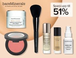 Bare minerals rabattkod upp till 51% rabatt hos Coolshop.se