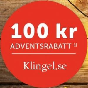 Klingel.se 100 kronor adventsrabatt - Spara pengar med Klingel rabattkod
